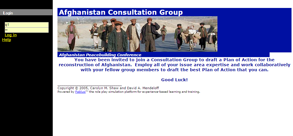 Afghanistan Consultation Group